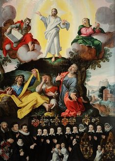 paintings of the Transfiguration - Wikimedia Commons Gerard David, The Transfiguration, Evil Art, San Salvador, Wikimedia Commons, 16th Century, Art History, Christ, Paintings