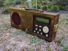 Dab Plus Digital and FM Radio Vintage Style Hand by DavesRadioShed