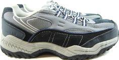 Brahma Women Safety Steel Toe Leather Sneakers Size 9 Blue Gray.  VVV 3 #Brahma #WorkSafety