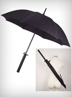 I might have to start carrying an umbrella with me now...