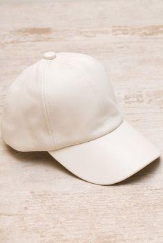 Alabama Shakes Pleather Hat - Ivory. Back StrapBaseball CapAlabamaFriesShakeFrench  ... 44d3c7f2eafd