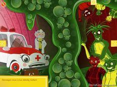 Doktor Lilliput Entdeckungsreise menschlicher Koerper Kinderbuch App (11)