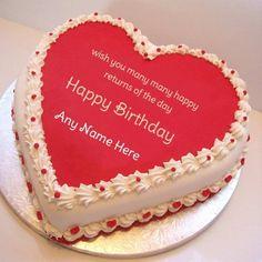 23 Wonderful Image Of Birthday Cake With Name Edit