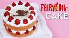 Fairy Tail Fantasia Cake Made by Rosanna Pansino You tuber- Nerdy Nummies