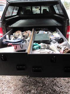 Lockable Truck Bed Storage