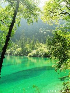 Deam place, Jiuzhaigou, China