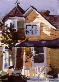 Charles Sovek, Artist and Author | Favorites - Watercolor Paintings