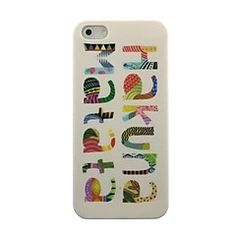$2.85 Colorful Hakuna Matata Pattern Hard Case for iPhone 5/5S
