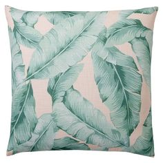 The Emily & Meritt Palm Print Euro Pillow Cover: Add a palm-inspired print to your room with this playful cotton pillow. Imagined exclusively for PBteen by celebrity stylists and fashion designers Emily Current and Meritt Elliott, it captures their classic and rebellious aesthetic.