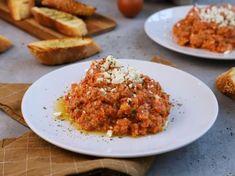 Μπάρες δημητριακών Main Dishes, Grains, Rice, Beef, Recipes, Food, Gastronomia, Tomatoes, Kitchens