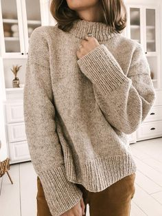 Free Knitting Patterns For Women, Chunky Knitting Patterns, Jumpers For Women, Sweaters For Women, Jumper Knitting Pattern, Knit Sweater Patterns, Mode Style, Vintage Patterns, Columbia
