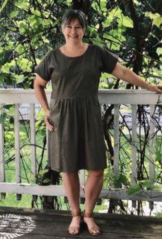 Kostenloses Schnittmuster für ein Sommerkleid für Damen ❤ Gr. XS - XL ❤ PDF zum Ausdrucken ❤ Freebook ✂ Jetzt Nähtalente.de besuchen ✂