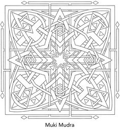 Sacred Yantra Coloring Book ~ I get to color this, too?!?! where do I sign up? :P