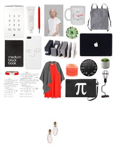"""Never too late to learn something new"" by stylected ❤ liked on Polyvore featuring LEXON, Byredo, Monki, Burberry, Dinks, Zara, Converse, Sara Happ, Caran D'Ache and Hermès"
