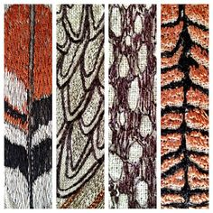 A closer look at some of the Coral & Tusk embroideries!