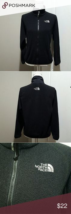 Women's black North Face fleece jacket, small Women's light weight/thinner material fleece jacket, The North Face. Size small. No stains or tares. The North Face Jackets & Coats