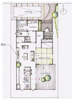 家づくりの悩み相談・設計無料の家づくり間取り提案・住宅プラン実例 1fplan2.jpg #家事 #家事動線 #間取り図