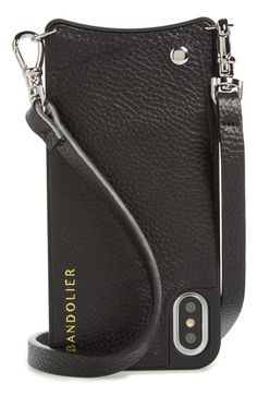 f4f0b990ca Calvin Klein Glasses 2014 · Bandolier Emma Leather iPhone X Case
