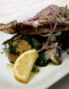 Sardinhas Grelhadas (Grilled Sardines)