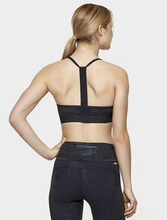 Crest Bra in Brushstroke, $75 | Alala | Luxury Womens Activewear | Style meets Sport