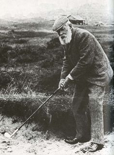 The first ever record hole-in-one made in 1868 by Tom Morris at the Open Championship at Prestwick, Scotland.