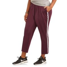 f04ad588a37 Athletic Works - Athletic Works Women s Plus Active Track Pant - Walmart.com
