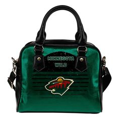 Back Fashion Round Charming Minnesota Wild Shoulder Handbags – Best Funny Store