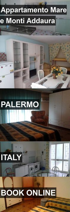 Hotel Appartamento Mare e Monti Addaura in Palermo, Italy. For more information, photos, reviews and best prices please follow the link. #Italy #Palermo #travel #vacation #hotel