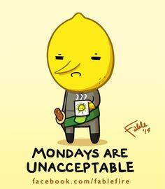 140324 Yay Monday - Lemongrab Says Unacceptable by fablefire