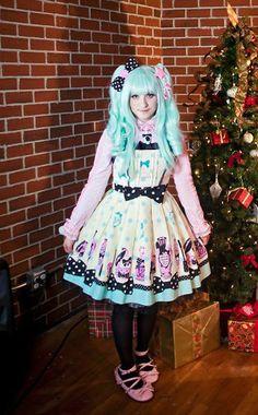 Dream Of Lolita Fantastic Dolly Replica, 6% Doki Doki Star Clip, Secret Shop Pink Tea Parties, Bodyline Pink Blouse