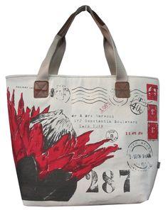 Rosehip Designs Reusable Tote Bags, Red, Design, Design Comics