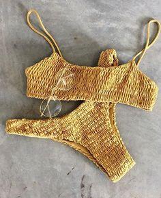 Sexy 2PCS Bandage Bikini
