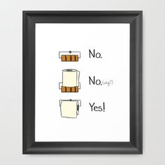 Bathroom Rules Framed Art Print by Cozy Reverie - Vector Black -