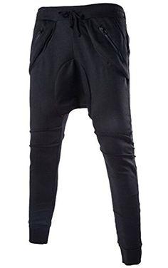 these?  mrice    Donyan Mens Slim Cotton British Style Joggers Harem Pants Black 34 DONYAN http://www.amazon.com/dp/B00WMJO5CG/ref=cm_sw_r_pi_dp_SRYuvb0RJ1SX6