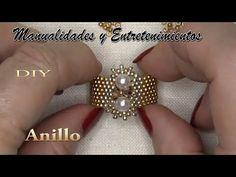 Bead Loom Designs, Beaded Jewelry Designs, Bead Jewellery, Diy Seed Bead Earrings, Beaded Earrings Native, Beaded Shoes, Beaded Rings, Earring Tutorial, Bracelet Tutorial