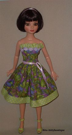 NEW Dress & short sleeve Jacket for Ellowyne  | Dolls & Bears, Dolls, Clothes & Accessories | eBay!