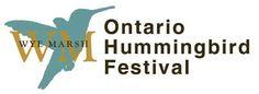 Evento de Día Internacional de las Aves Migratorias el Festival de Colibrí organizado por el Pantano Wye en Onatario, IBA Canada  International Migratory Bird Day Ontario Hummingbird Festival at Wye Marsh in Ontario, Canada.  #BirdDay
