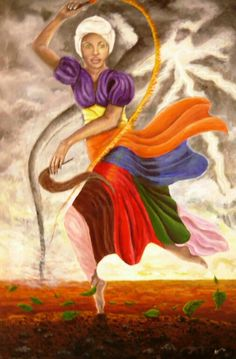 """OYA"", Yoruba, ""Goddess of The Winds and Storms"". Wife of 'SANGO, God of Thunder and Lightning"". Legend in ""The GODDESSES / Psychology of Female Power"", http://thesisterhoodpsychology.weebly.com/"