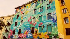 street art Rome Tor Marancia district
