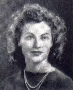 Ava Gardner's yearbook picture in the Atlantic Christian College yearbook, 1941