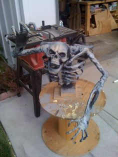 PVC Skeleton Plans....Scroll almost to bottom and click on Cheap & Easy Skelton Hands...Sue 2012