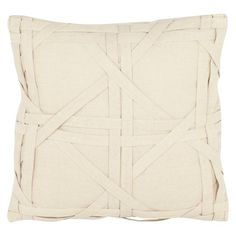 Safavieh 2 Pack Lattice Throw Pillow - Ivory