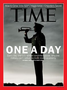 """""""One A Day - Every day, one US soldier commits suicide. Why the military can't defeat its most insidious enemy."""""""