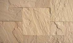 """BEIGE   STONE TYPE: SANDSTONE   TOP FINISH: NATURAL   BOTTOM FINISH: NATURAL OR CALIBRATED   EDGE FINISH: SAWN   DIMENSIONS: 1'X1' TO 2'X3'   THICKNESS: 1"""", 1.25"""", 2"""", 6""""   ALSO AVAILABLE IN:  COPING, TREADS, STEPS"""