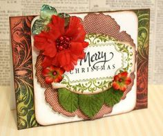 Merry-Christmas card designed by Alice Carman