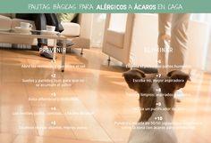Pautas básicas para alérgicos a ácaros en casa