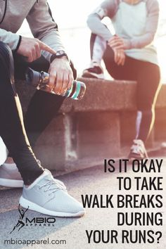 The answer is a resounding yes. It is absolutely okay to take breaks when you're running if you feel out of breath, you have a cramp, you're suffering from nausea, or something hurts a lot more than it should, for example. It's always important to listen to your body, slow it down, and take stock if something doesn't feel right. The last thing you want is an injury that's going to impede your progress. #mbioapparel #runningtips #training #running Running Plan, Running On Treadmill, How To Start Running, Running Workouts, How To Run Faster, Running Tips, Endurance Training, Race Training, Running Training