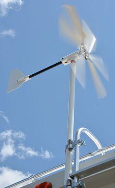 Wind Generator for RVs, the Windwalker turbine
