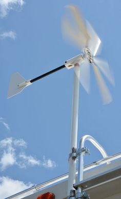 Wind Generator for RVs, the Windwalker turbine