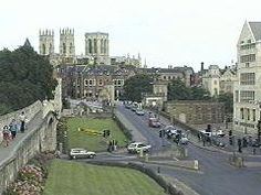 View of the wall surrounding York